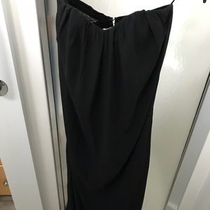 Black sweetheart gown, Size Small